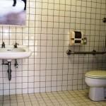 身障者の方用トイレ