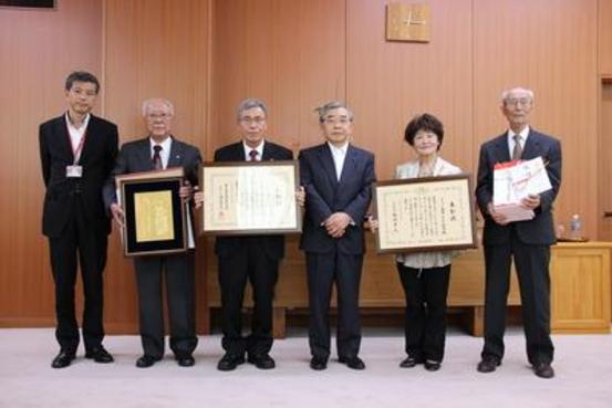 島根県知事表敬訪問