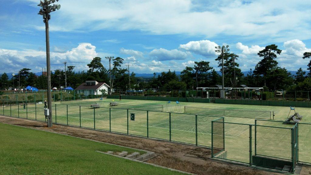 お台場公園 テニスコート