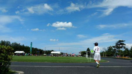 鳥取県北栄町 お台場公園 2017年7月 サッカー大会